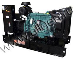 Дизель электростанция EuroPower EP130TDE/EPSR130TDE мощностью 143 кВА (114 кВт) на раме
