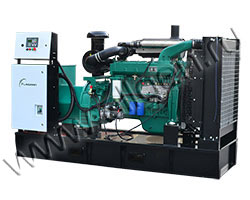 Дизель электростанция FLAGMAN АД150-Т400-1Р/1РП мощностью 206 кВА (165 кВт) на раме