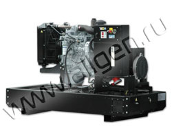 Дизель электростанция Fogo FI45 мощностью 49 кВА (39 кВт) на раме