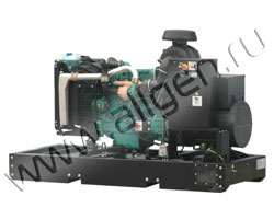 Дизель электростанция Fogo FV100 мощностью 110 кВА (88 кВт) на раме