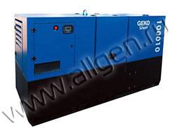 Дизель генератор Geko 100010 ED-S/DEDA мощностью 110 кВА (88 кВт) в шумозащитном кожухе
