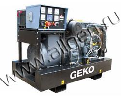 Дизельный генератор Geko 20003 ED-S/DEDA мощностью 17.6 кВт б/у (с наработкой)