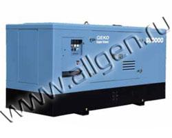 Дизель генератор Geko 380000 ED-S/DEDA мощностью 418 кВА (334 кВт) в шумозащитном кожухе