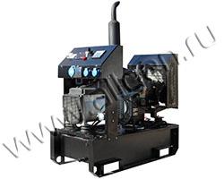 Дизельный генератор GENBOX KBT8M/MS-3000 на раме