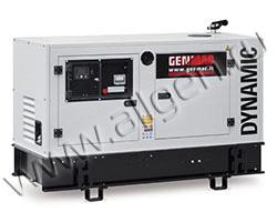 Дизельный генератор Genmac G26KO-E/KS-E мощностью 22.4 кВт