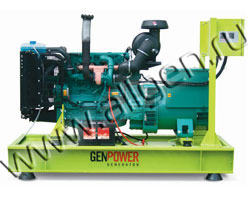 Дизельный генератор GenPower GVP 109 (87 кВт)