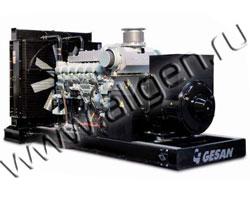 Дизельный генератор Gesan DVA 630 E (504 кВт)