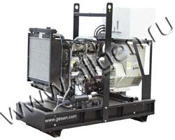 Дизель электростанция Gesan DPA 90E мощностью 88 кВА (70 кВт) на раме