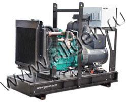Дизель электростанция Gesan DVA 140E мощностью 142 кВА (114 кВт) на раме