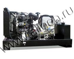 Дизель электростанция Gesan DVB 140E мощностью 142 кВА (114 кВт) на раме