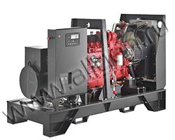 Дизель электростанция Gesan QI 140 / QIS 140 мощностью 143 кВА (114 кВт) на раме