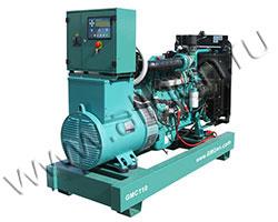 Дизель электростанция GMGen GMC110 мощностью 110 кВА (88 кВт) на раме