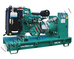 Дизель электростанция GMGen GMC150 мощностью 150 кВА (120 кВт) на раме