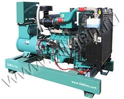 Дизельный генератор GMGen GMC170 (136 кВт)