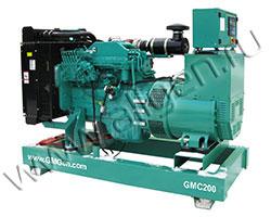 Дизель электростанция GMGen GMC200 мощностью 200 кВА (160 кВт) на раме