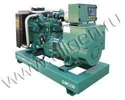 Дизельный генератор GMGen GMC220 (220 кВА)