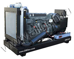 Дизельный генератор GMGen GMD440 (352 кВт)