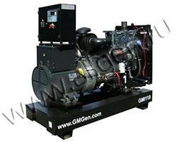 Дизель электростанция GMGen GMI110 мощностью 110 кВА (88 кВт) на раме