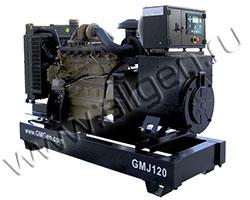 Дизельный генератор GMGen GMJ120 (115 кВА)