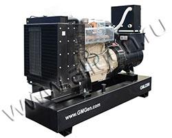 Дизель электростанция GMGen GMJ200 мощностью 200 кВА (160 кВт) на раме