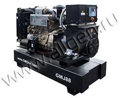 Дизель электростанция GMGen GMJ88 мощностью 88 кВА (70 кВт) на раме
