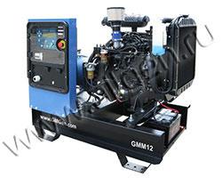 Дизельный генератор GMGen GMM12 мощностью 9 кВт