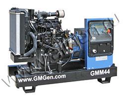 Дизельный генератор GMGen GMM44 (35 кВт)