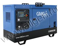 Дизель генератор GMGen GMM8 мощностью 8 кВА (6 кВт) в шумозащитном кожухе
