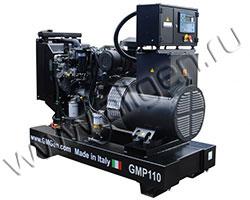 Дизель электростанция GMGen GMP110 мощностью 110 кВА (88 кВт) на раме