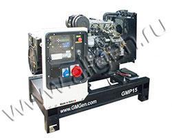 Дизельный генератор GMGen GMP15 мощностью 12 кВт