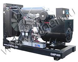 Дизель электростанция GMGen GMP400 мощностью 400 кВА (320 кВт) на раме