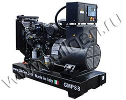 Дизель электростанция GMGen GMP90 мощностью 88 кВА (70 кВт) на раме