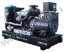 Дизель электростанция GMGen GMV155 мощностью 150 кВА (120 кВт) на раме