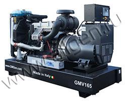 Дизельный генератор GMGen GMV165 (134 кВт)