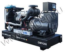 Дизель электростанция GMGen GMV200 мощностью 200 кВА (160 кВт) на раме