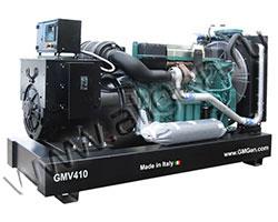 Дизель электростанция GMGen GMV410 мощностью 418 кВА (334 кВт) на раме
