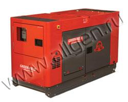 Дизель генератор GreenField GFE-30SS3 мощностью 26 кВА (21 кВт) в шумозащитном кожухе