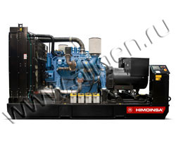 Дизельный генератор Himoinsa HMW-350 T5 (400 кВА)