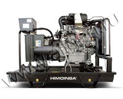 Дизельный генератор Himoinsa HYW-6 T5 на раме