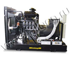 Дизель электростанция Hobberg HD 145  мощностью 143 кВА (114 кВт) на раме