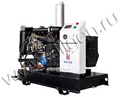 Дизельный генератор Исток АД16С-О230 мощностью 14 кВт
