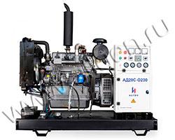 Дизельный генератор Исток АД20С-О230 мощностью 18 кВт