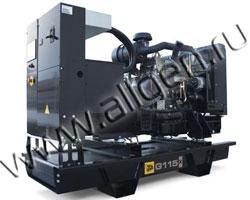 Дизельный генератор JCB G115X (QX) (120 кВА)