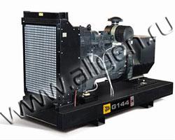 Дизель электростанция JCB G144X (QX) мощностью 143 кВА (114 кВт) на раме