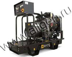 Дизельный генератор JCB G17X (QX) мощностью 14 кВт