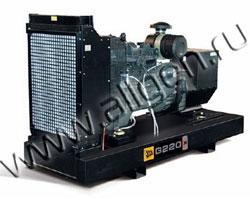 Дизельный генератор JCB G220X (QX) (220 кВА)