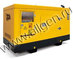 Дизель генератор JCB G22X (QX) мощностью 22 кВА (18 кВт) в шумозащитном кожухе