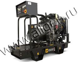 Дизельный генератор JCB G22X (QX) мощностью 18 кВт