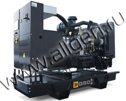 Дизель электростанция JCB G90X (QX) мощностью 88 кВА (70 кВт) на раме