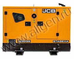 Дизельный генератор JCB G20QS мощностью 16 кВт